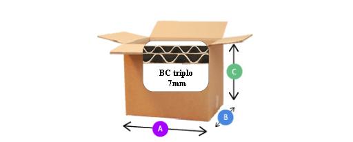 BOX Fefco 201BC151515