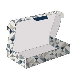 Scatola a valigetta con gancio